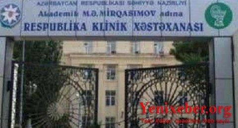 Respublika Klinik Xəstəxanasi Ozbasina Qalib Yenixeber Org Oxu Xəbərin Olsun
