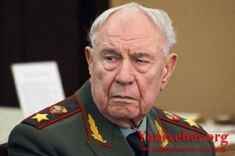 20 yanvar faciəsini törədən Dmitri Yazov öldü