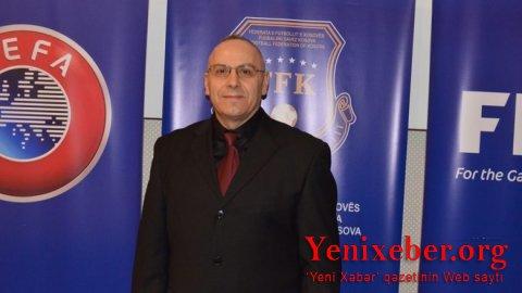 Kosovo Futbol Federasiyasının prezidenti-həbs edildi