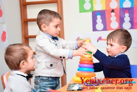 Uşaq bağçalarına elektron qəbul başlanılır