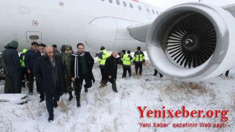 İranda daha bir sərnişin təyyarəsi -
