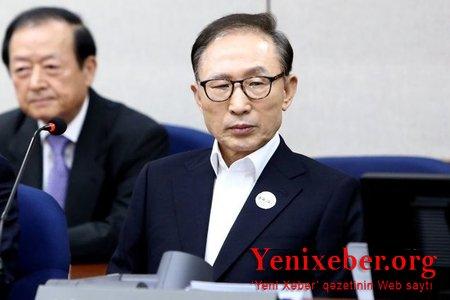 Cənubi Koreyanın sabiq prezidenti 17 il müddətinə azadlıqdan məhrum edilib