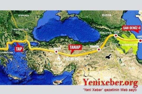 Azərbaycan Türkiyə qaz bazarında Rusiyanı sıxışdıraraq liderliyə yüksəlib