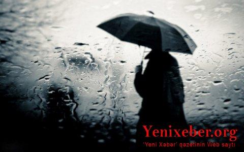 Bu günə külək, yağış gözlənilir-