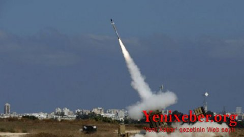 İsrailə raket atıldı-