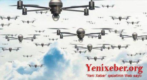 Türkiyənin sürü halında uçan kamikadze-dronları: