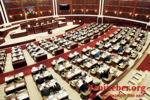 Parlamentin növbəti iclasının vaxtı və gündəliyi açıqlandı -