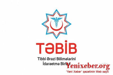 TƏBİB məlumat yaydı: