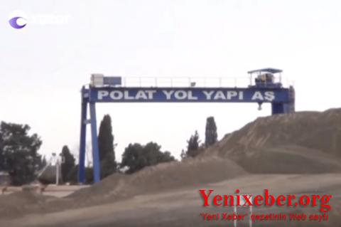 """""""Polat Yol Yapı""""-nın çəkdiyi Şəki-Qax yolu vaxtından əvvəl niyə dağılır?-"""