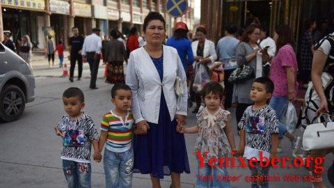Çin uyğur əhalisinin artımını dayandırmaq üçün doğuma məcburi nəzarət tətbiq edir-