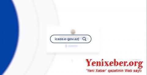 Elektron icazə portalında problem yaranıb-