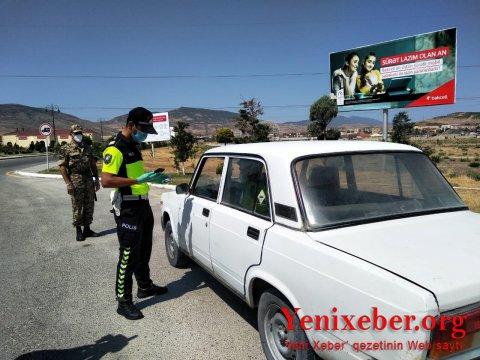 Xaçmaz və Siyəzən polisi gücləndirilmiş iş rejimində-