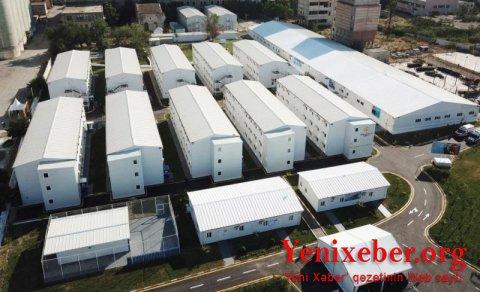 Prezident və birinci xanım Bakıda modul tipli hospitalın açılışında iştirak etdilər—