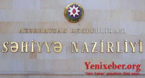 Səhiyyə Nazirliyimiz qərar verdi -