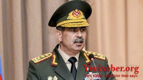 Zakir Həsənov generalı vəzifəsindən azad etdi