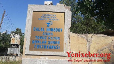 Tovuzun Təcili Yardım Stansiyasının Qovlar bölməsinin həkimləri: