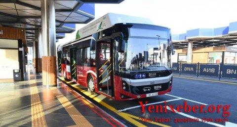 Paytaxtda ekspres avtobus xətlərinin iş qrafiki dəyişdirildi-