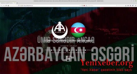 Hakerlərimiz 30-dək erməni saytını dağıtdılar-