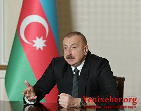 Prezident İlham Əliyevin sədrliyi ilə Nazirlər Kabinetinin iclası keçirilib-