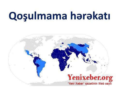 Qoşulmama Hərəkatının 120 ölkəsi erməni təxribatını qətiyyətlə pislədi-