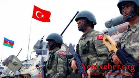 Azərbaycan-Türkiyə birgə genişmiqyaslı hərbi təlimlər keçiriləcək