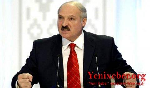 Lukaşenko da koronavirusa yoluxdu