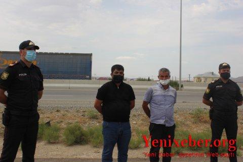 Karantin qaydalarını pozaraq sərnişin daşıyan iki sürücü -