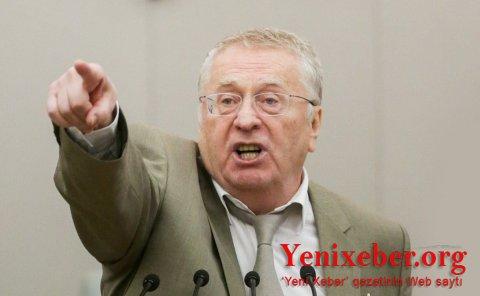 Jirinovski Lukaşenkoya hakimiyyətdən getməyi məsləhət gördü