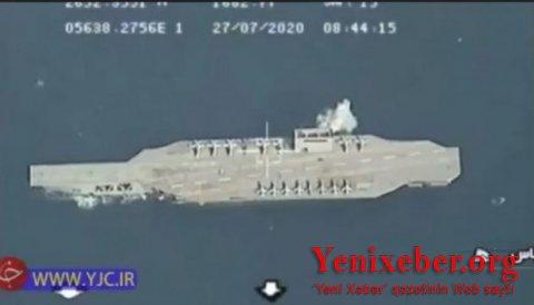 İran raket zərbəsi endirdi-