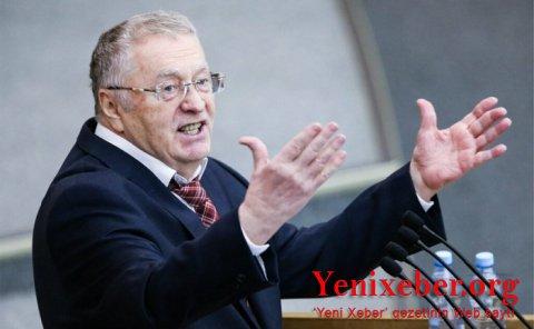 Jirinovski Lukaşenkoya çağırış etdi-
