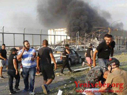 Beyrutdakı partlayışda ölənlərin sayı artıb