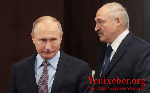 """Putin və Lukaşenko ilə """"vaqnerçilət""""in taleyini müzakirə edib"""