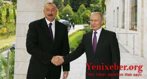 İlham Əliyev Putinlə telefonda danışdı
