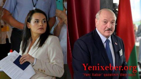Tixanovskaya Lukaşenkonu dialoqa çağırdı