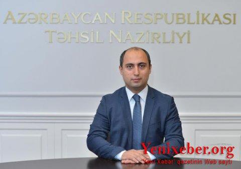Təhsil nazirinə yeni  -