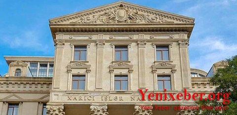 Azərbaycan Ermənistanın qanunsuzluğuna görə   -