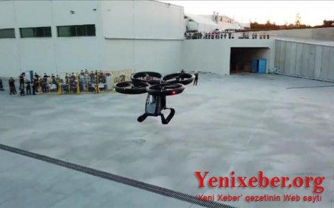 Türkiyənin ilk uçan avtomobilinin sınağı uğurla başa çatdı-