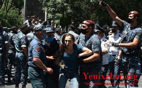 Ermənistanda aksiya keçirilib-