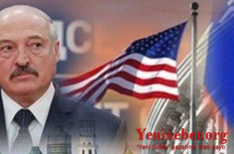 ABŞ-da LUKAŞENKONUN LEGİTİMLİYİNİ TANIMADI -