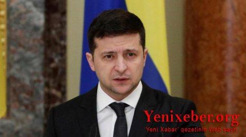 Zelenskinin Belarusa səfəri ləğv edilib-