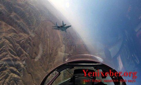 Hərbi Hava Qüvvələrimizin döyüş uçuşları başlayıb -