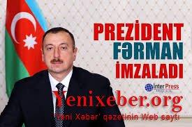 Prezidentdən karantin rejimi ilə bağlıFƏRMAN