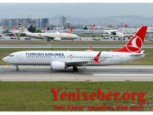 Türk Hava Yolları Ankara-Bakı-Ankara xüsusi uçuşlarına başlayır-