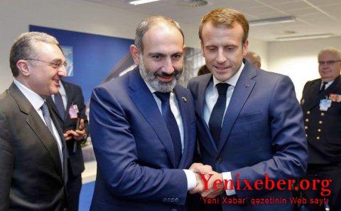 Fransa Paşinyanı xilas etməyə çalışır-
