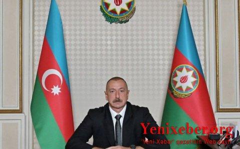"""Prezident İlham Əliyev """"TRT Haber"""" televiziya kanalına müsahibə verib"""