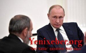 Paşinyan yenə Putinə zəng edib