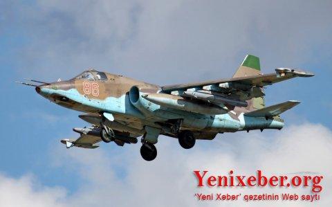 Düşmənin növbəti Su-25 təyyarəsi vurulub