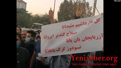 İran Azərbaycanında Qarabağa dəstək aksiyası