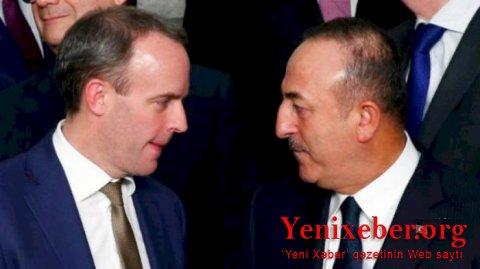 Çavuşoğlu britaniyalı həmkarı ilə Qarabağı müzakirə edib