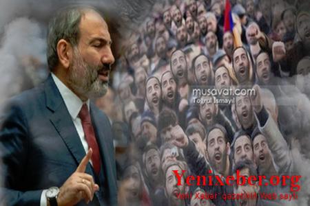 Paşinyan erməniləri fəlakətə aparır -